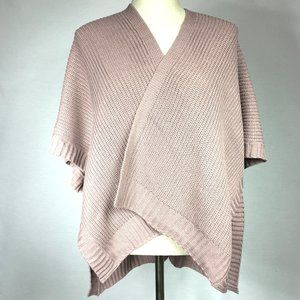 NWT Lavender Shaw/Poncho Sweater Size Small.